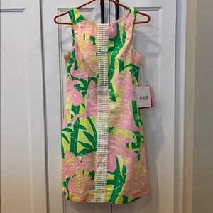 NWT Lilly Pulitzer Target flamingo shift dress new